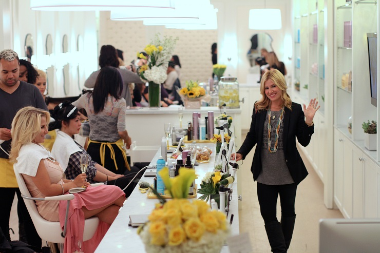 Alli-At-Drybar-courtesy-drybar